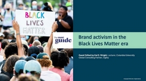 Brand activism in the Black Lives Matter era