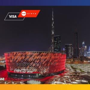 Visa Named Founding and Official Payment Partner for Coca-Cola Arena