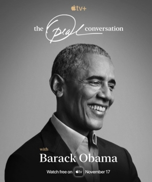 Oprah Winfrey interviews President Barack Obama about his new memoir