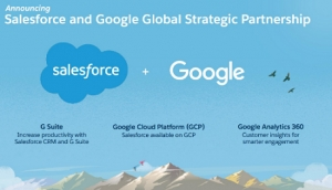Google and Salesforce Form New Strategic Partnership