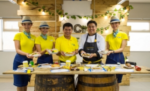 Cebu Pacific unveils flavors of the world