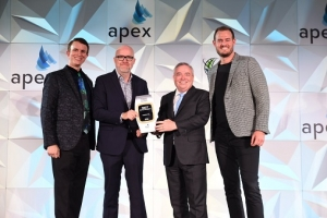 Emirates wins Best Entertainment award at the 2020 APEX Passenger Choice Awards