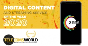 ZEE5 Global named 'Digital Content and Streaming Service of the Year' at the 2020 Telecoms World Middle East Awards