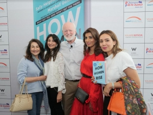 Marshall Goldsmith and Sally Helgesen launch corporate guide for women in Dubai